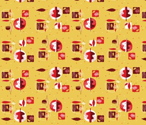 oakleaves_'n_acorns fabric by squirrelgirl on Spoonflower - custom fabric