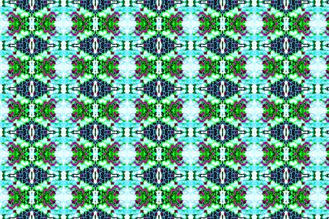 Abstract Hydrangea Stripe II fabric by robin_rice on Spoonflower - custom fabric