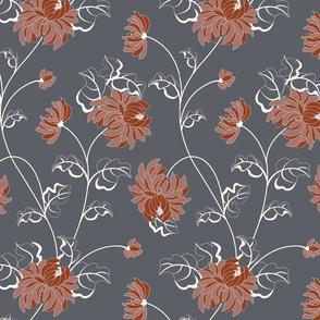 Chrysantemum - flower of the autumn