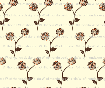 Antique Dahlia Garden - Autumn Memories ( 3 colours )