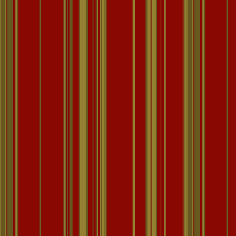 Abby red stripe fabric by paragonstudios on Spoonflower - custom fabric