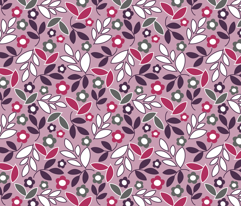 Leaves fabric by emilyb123 on Spoonflower - custom fabric