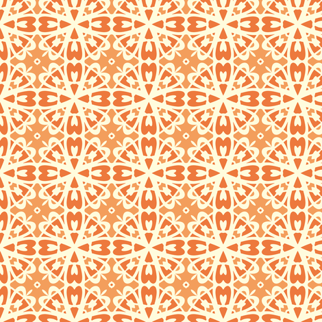 A Creamy Pumpkin Pie fabric by inscribed_here on Spoonflower - custom fabric