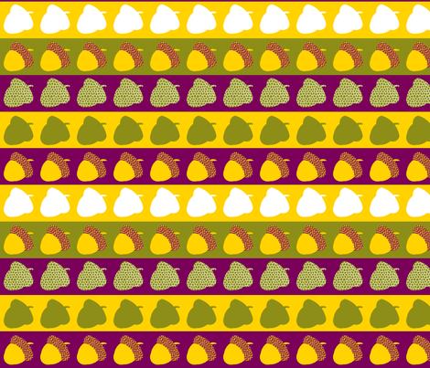 AcornPattern fabric by danielapuliti on Spoonflower - custom fabric