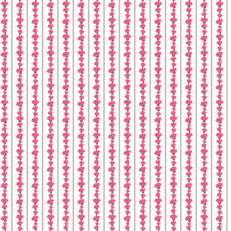 Mushrooms Stripes fabric by natitys on Spoonflower - custom fabric