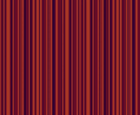 4th Doctor's Fall Scarf Stripe fabric by fentonslee on Spoonflower - custom fabric