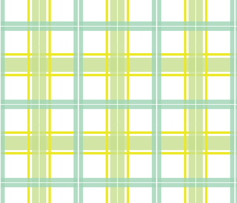 Baby Woods_Large Plaid fabric by dzynchik on Spoonflower - custom fabric