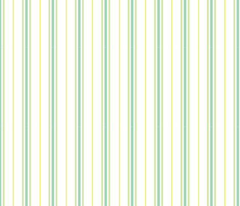 Baby Woods_Ticking stripe fabric by dzynchik on Spoonflower - custom fabric