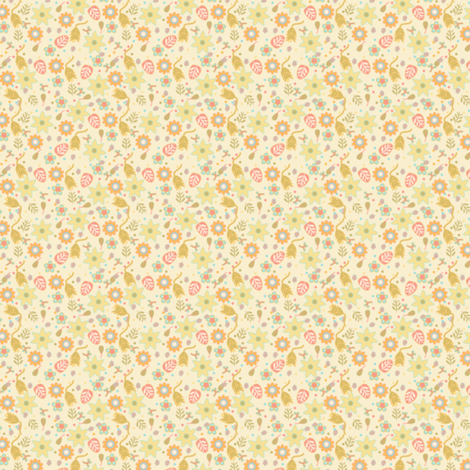 blooming_ditsy fabric by suziwollman on Spoonflower - custom fabric