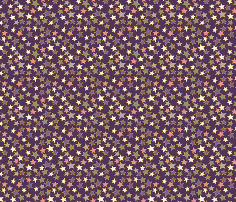 Starry Starry Night fabric by woodledoo on Spoonflower - custom fabric