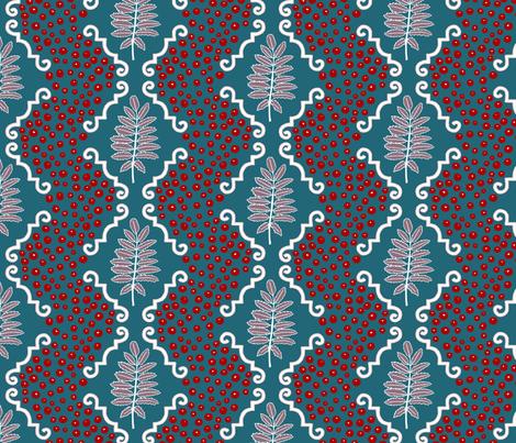 wintertiles fabric by mrshervi on Spoonflower - custom fabric
