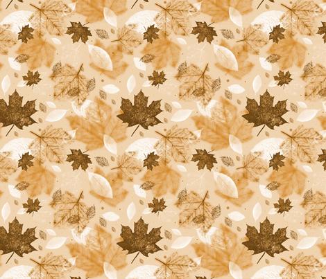Autumnal fabric by bellenoel on Spoonflower - custom fabric