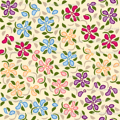 Flood_of_Flowers_eyelet_4_f_2_multi___tan_A3_green_shadow