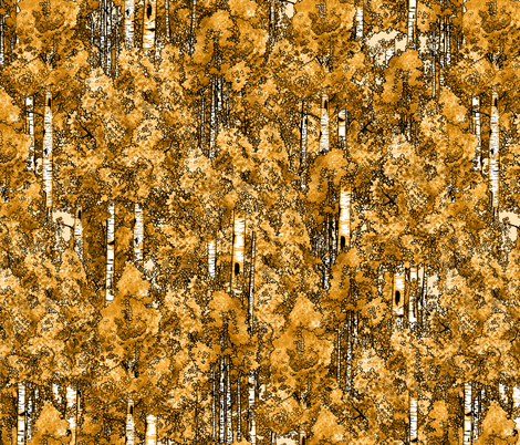 fall aspens fabric by creativebrenda on Spoonflower - custom fabric