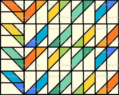 Stripe Mosaic 1
