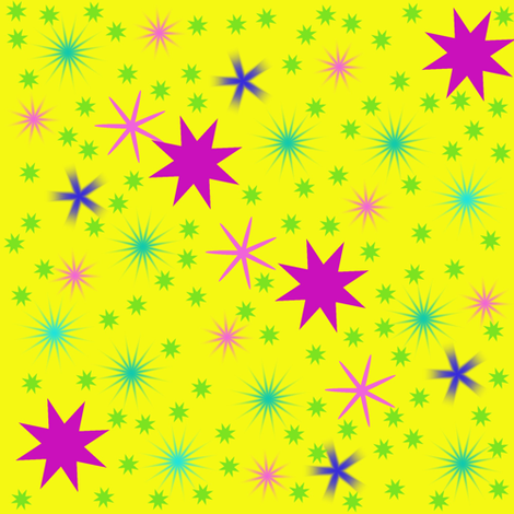 Stars only fabric by angelsgreen on Spoonflower - custom fabric