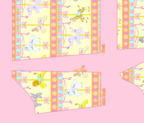 OP Panel Yellow Size 38 fabric by printedprincess on Spoonflower - custom fabric