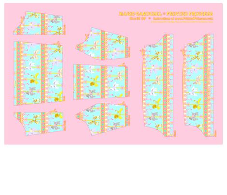 OP Panel Blue Size 35 fabric by printedprincess on Spoonflower - custom fabric