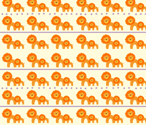 Roar!! fabric by fable_design on Spoonflower - custom fabric