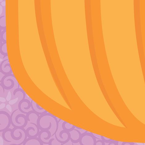 Mr. Pumpkin Noggin fabric by robyriker on Spoonflower - custom fabric