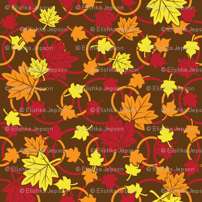 Autumn Leaves Will Fall (Yellow)