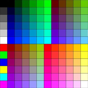 8x8 Color Sample