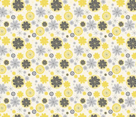 Poppy (5) fabric by mondaland on Spoonflower - custom fabric