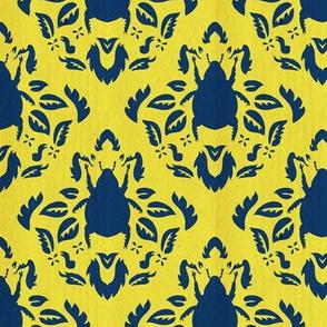 scarab damask