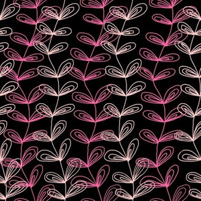 Vines in Pink