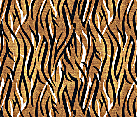 BENGALESQUE3 LARGE fabric by glimmericks on Spoonflower - custom fabric