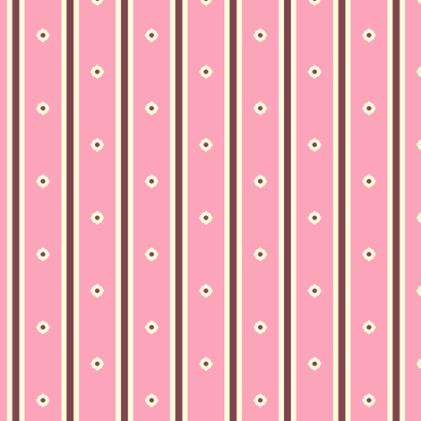Wild Berry Stripe fabric by inscribed_here on Spoonflower - custom fabric