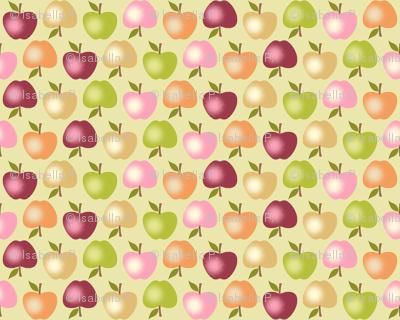 Autumn Apples - Green