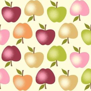 Autumn Apples - Cream