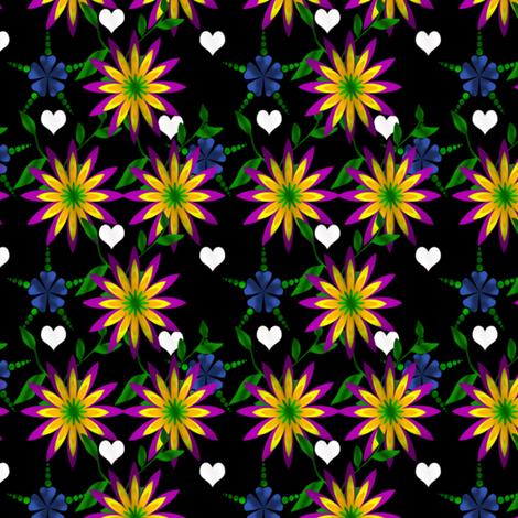 Night Garden fabric by glanoramay on Spoonflower - custom fabric