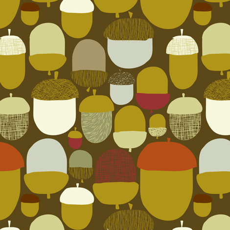 A'KERNS fabric by trcreative on Spoonflower - custom fabric