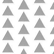 triangle stripes