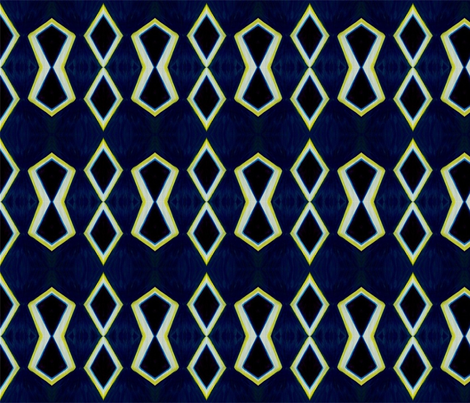 BlueHourglass fabric by kingcarl on Spoonflower - custom fabric