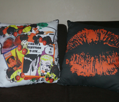 Rockabilly Pop Cushions