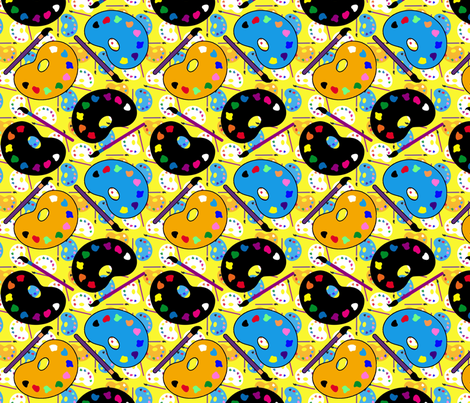 art5 fabric by hannafate on Spoonflower - custom fabric