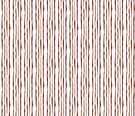 Hand-drawn stripe coordinate for Autumn Leaves Abstract stripe -- Variation 1 fabric by bargello_stripes on Spoonflower - custom fabric