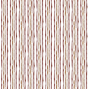 Hand-drawn stripe coordinate for Autumn Leaves Abstract stripe -- Variation 1