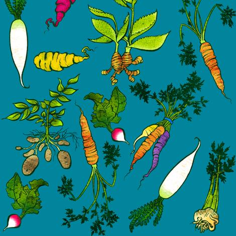 Roots fabric by jadegordon on Spoonflower - custom fabric