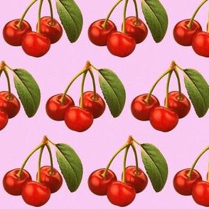 Retro cherries