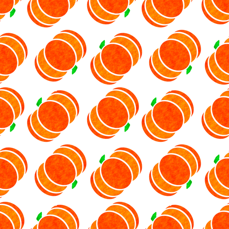Marble Mosaic Flying Pumpkins fabric by squishylicious on Spoonflower - custom fabric