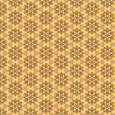 Hia's Starflower fabric by siya on Spoonflower - custom fabric