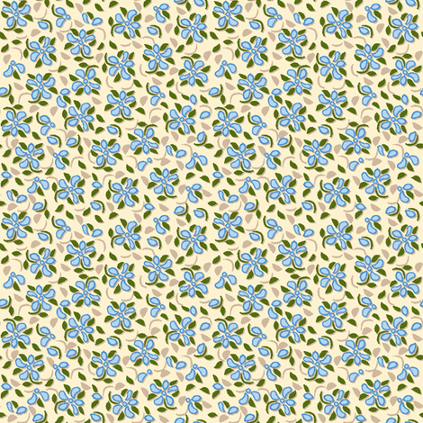 Flood_of_Flowers_(please zoom) eyelet_4_f_2__A4_offset_shadow_blue-ch fabric by khowardquilts on Spoonflower - custom fabric