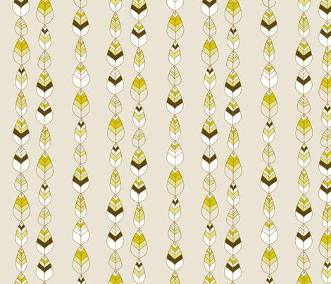 "BEECH BELLS in ""BARK"" fabric by trcreative on Spoonflower - custom fabric"