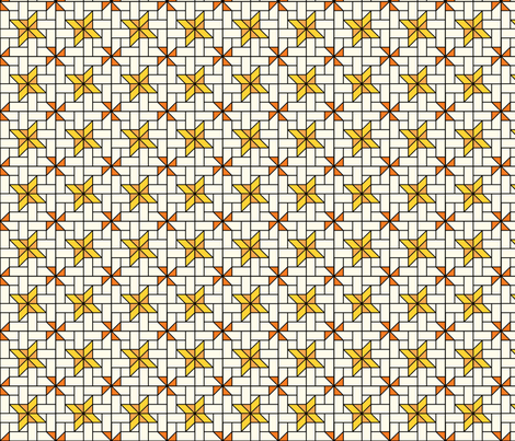 Star Mosaic 4 fabric by zigzagza on Spoonflower - custom fabric