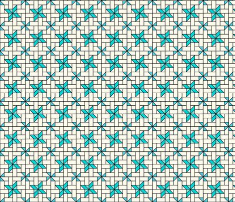 Star Mosaic 3 fabric by zigzagza on Spoonflower - custom fabric