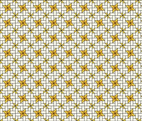 Star Mosaic 6 fabric by zigzagza on Spoonflower - custom fabric